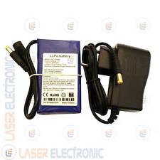 Batteria a Litio 12V 4.5AH 4500mA 90x51x19mm con Caricabatteria 12.6V 1.0AH