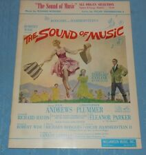 Vintage Sound of Music Organ Music Rodgers Hammerstein Julie Andrews