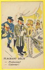 cpa Illustration COLLECTION HUMORISTIQUE 211 A. NOYER PARIS Flagrant Délit