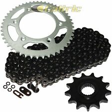 Black O-Ring Drive Chain & Sprocket Kit Fits HONDA XR250R 1996-2004