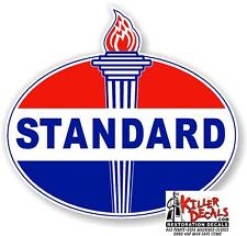 "4"" EARLY style STANDARD TORCH GAS PUMP OIL TANK DECAL"