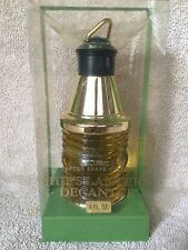 NIB Shulton Lime Old Spice Lg 6 oz Aftershave Limited Edtion Lantern Decanter