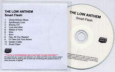 THE LOW ANTHEM Smart Flesh UK 11-trk numbered promo test CD + PR Bella Union