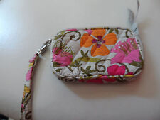 Vera Bradley tech case in Tea Garden pattern