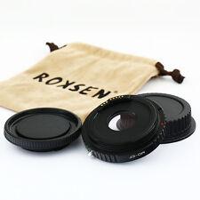 Roxsen Advanced EMF AF confirm adapter Minolta MD lens to Canon EOS 5DIII 6D 70D