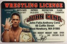 John Cena - Wrestling License Novelty