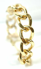 ELEGANT GOLDEN CHAIN BRACELET BRAND NEW CHUNKY UNIQUE UNISEX (CL7)
