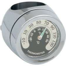 "Drag Specialties Handlebar Mount Thermometer for 7/8"" or 1"" Bar"