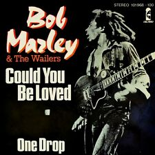 "7"" BOB MARLEY & THE WAILERS Could You Be Loved/One Drop ISLAND 45rpm Reggae 1980"