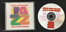 Jazz up Your Summer - Tott's Blanc de Noir AUDIO CD 1993 8 Tracks