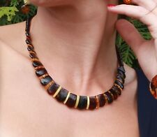 Ladies Baltic Amber necklace. Genuine Natural Amizing necklace.