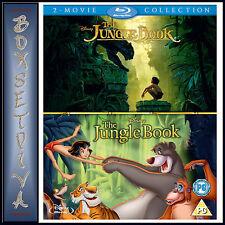 THE JUNGLE BOOK 1 & 2 - 2 MOVIE COLLECTION**BRAND NEW BLURAY BOXSET**