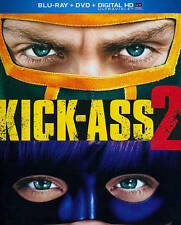 Kick-Ass 2 (Blu-ray/DVD, 2013, 2-Disc Set, Includes Digital Copy UltraViolet)