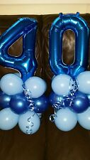 13th 16th 21st 30th 40th 50th 60th Air Filled Balloon Birthday Table Display