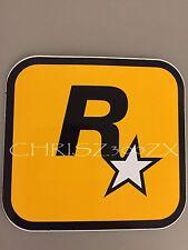 """Grand Theft Auto V 5 Rockstar Games LOGO Sticker Decal 3"""" x 3 1/16"""""""