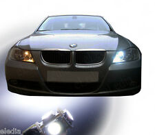 BMW E90 E91 2 Bulbs Lighting Night lights position lights White LED SERIE 3
