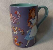 Disney NEW Alice in Wonderland Record Cover Mug coffee cup tea purple large tall