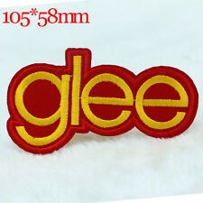 glee letter pattern New Hot sale DIY Embroidery Iron on patches sewing applique