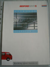 Bedford Vans Approved Accessories brochure Oct 1988