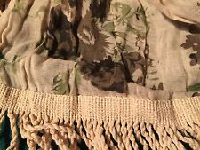 Urban Outfitters Kimchi Blue Natural Patterned and Yarn Long Dress Scarf