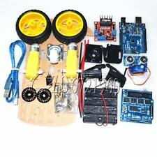 Smart Car Tracking Motor Smart Robot Car Chassis Kit 2WD Ultrasonic For Arduino