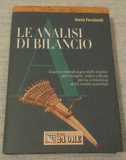Imerio Facchinetti - LE ANALISI DI BILANCIO - 2000 - 1° Ed. Il Sole 24 Ore