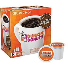 NEW Dunkin Donuts Original Blend Medium Roast 16-pk Count K-Cups  - Keurig