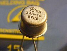 10x BSX45-10 NPN-Transistor 40V 1000mA 6.25W, Motorola