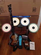 Nintendo Wii The Beatles: Rock Band Limited Edition Bundle w/ Mic, Guitar, Game+