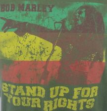 Bob Marley Stand Up For Your Rights Zion Vintage  Large Green T-Shirt Jamaica L