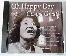 MAHALIA JACKSON - OH HAPPY DAY - GOSPEL GREATS - Vol 3 - CD Neuf (A1)