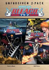 Bleach Movies: The Unforgiven Double Feature Complete Anime Box / DVD Set NEW!