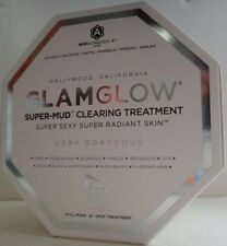 Glamglow super Mud Mask clearing treatment 34g/1.2oz NEW in Box