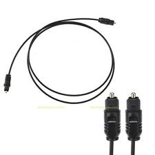 1m/3ft Digital Fiber Optic Audio Cable Optical SPDIF TosLink for TV DVD AMP New