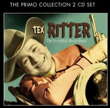 Essential Recordings - Tex Ritter (2014, CD NEUF)2 DISC SET