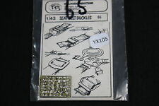 YX105 VP verlinden maquette diorama 65 Seat Belt Buckles sangle boucle ceinture