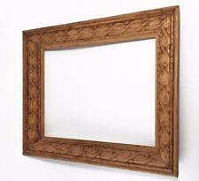 """Beautiful Vintage Carved Wood Frame, 8x10"""", Intricate Detail and Great Carving"""