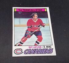 1977-78 OPC # 200 CANADIENS GUY LAFLEUR ALL STAR NM/M