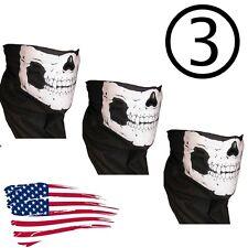 3 Call of Duty Ghost Balaclava Logan Skull Face Mask Hood Biker