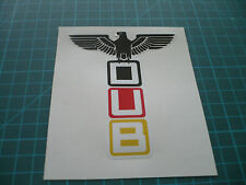 Volkswagen Dub Eagle Sticker 150mm-  VW Surfbus Beetle Buggy