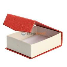 Red Necklace Pendant Earrings Rings Gift Box Jewelry Box Case Display Package