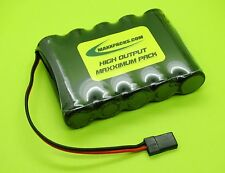 6v 2500 AA TWICELL / ENELOOP FLAT BATTERY 4 RC AIRPLANES JR / HITEC CONNECTOR