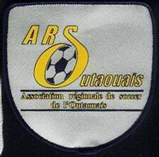 ARS OUTAOUAIS REGIONAL ASSOCIATION QUEBEC FOOTBALL SOCCER JERSEY LOGO PATCH NEW