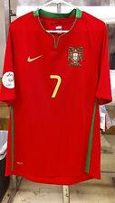 NWT Authentic Nike Euro 2008 Portugal Ronaldo jersey Medium M Real Madrid