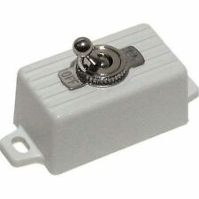 Seco Larm SS-076Q-SW SPST Toggle Switch, Snow White for Alarm Systems SS076Q