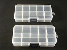 Container Storage Beads Plastic 10 compartment Jewelry Findings Bead GREAT DEAL!
