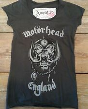 Amplified Motorhead Womens T Shirt  Vintage Washed  Xsm, Sm, Med, Lge