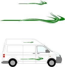 280 - Van Aménagé Graphique, Camping-car Vinyle Kit Décalques / Autocollants