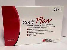 Vericom Denfil Flow A2 Flowable Light-Cured Composite Resin 5201 FDA Approved