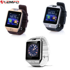Lemfo Hot Bluetooth Smart Watch DZ09 GSM SIM Smartwatch For Android Phone Gold
